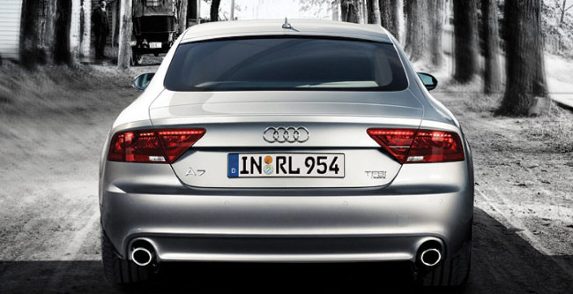 Audi A7 Back Side View Cars In Pakistan Car Prices In Pakistan Pictures And Review
