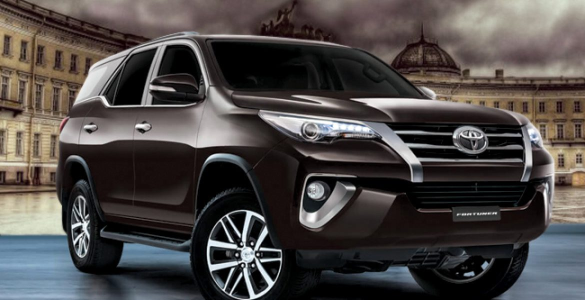 Toyota Fortuner 2017 Simple And Sports Model Price In Pakistan